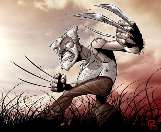 Good Old Wolverine by patrick brown