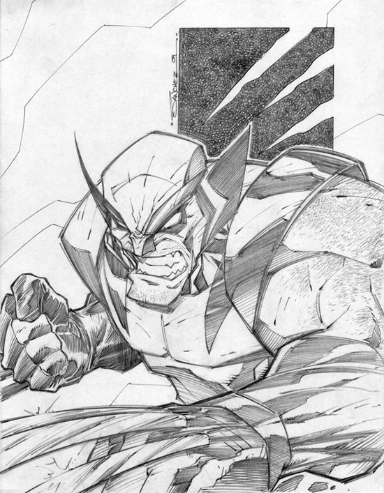 Wolverine Sharp Ready by Steven Sanchez