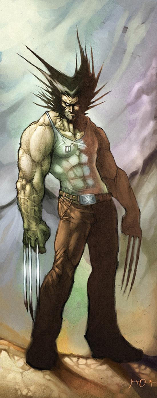 Wolverine by Goretoon