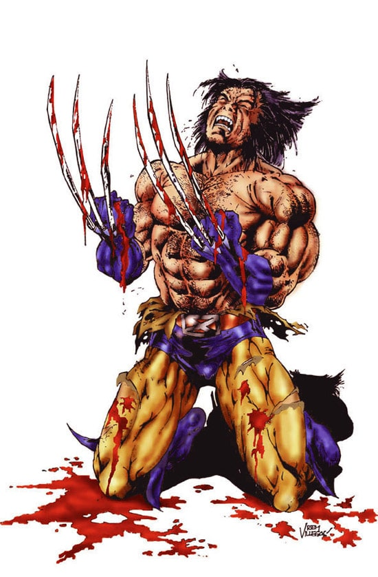 Angst of wolverine by Reybronx