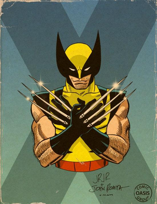 Romita Wolverine by Skutterfly