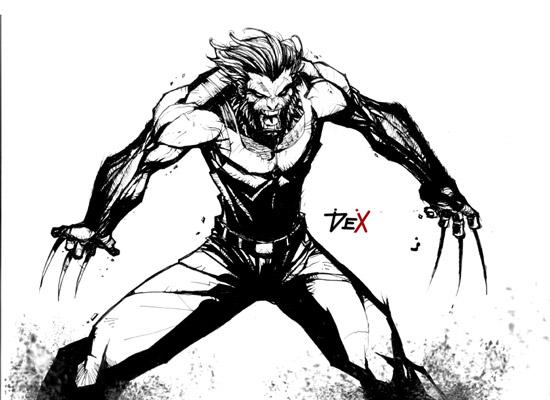 wolverine by nefar007