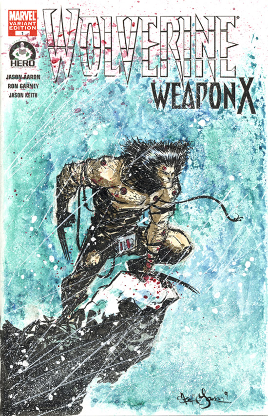 Hero Initiative Wolverine by skottieyoung