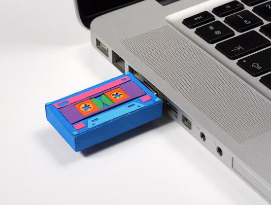 Paper USB Tape
