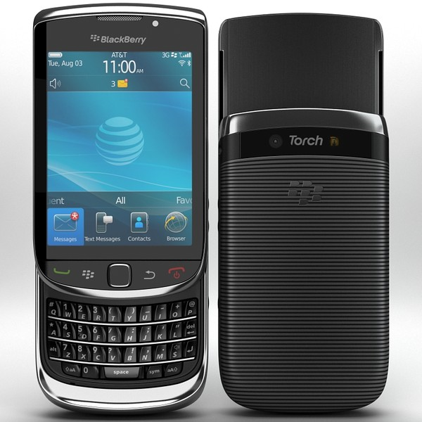 BlackBerry Torch 9800 by Artem_Shvetsov