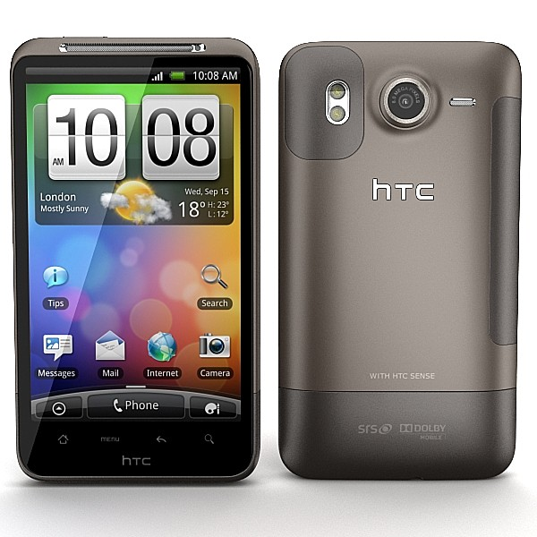 HTC Desire HD by Artem_Shvetsov