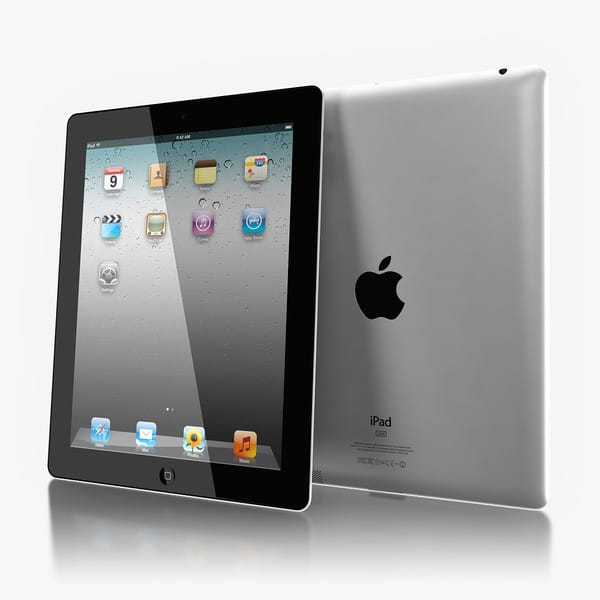 Apple iPad 2 by Artem_Shvetsov