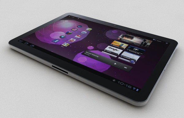 SAMSUNG GALAXY TAB II , P7100 by N.DESIGN
