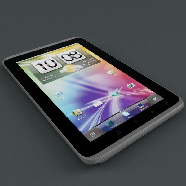 HTC Flyer Tablet by 3d_molier