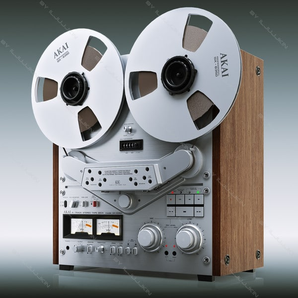 Reel tape recorder Akai GX-635D by iljujjkin