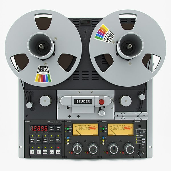 Reel tape recorder STUDER A810 by iljujjkin