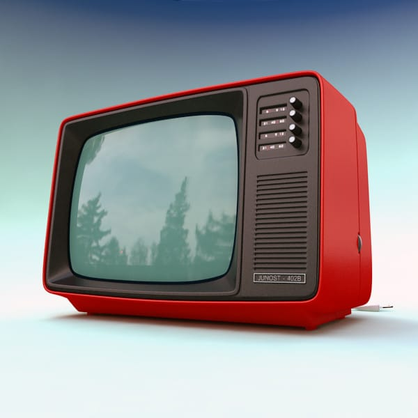 Retro TV by mellow box