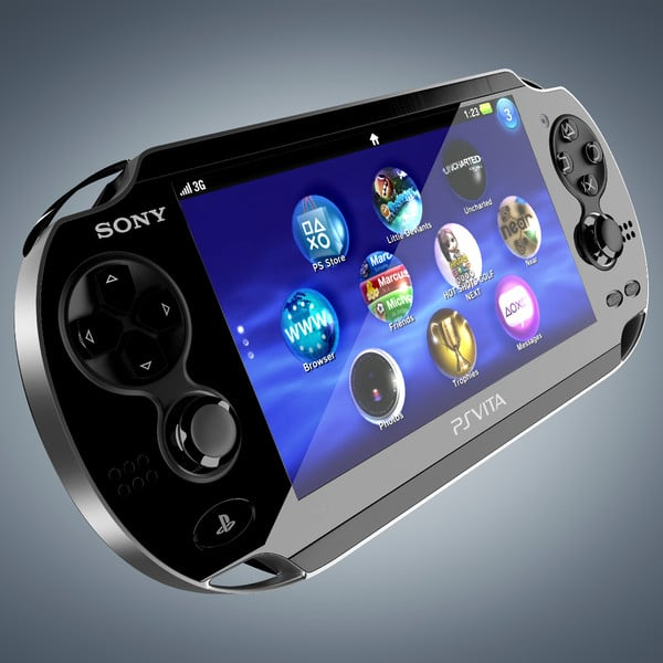 Sony PlayStation Vita by RicardoAfonso