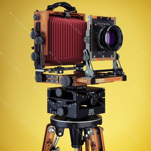 Retro Camera Shen Hao by iljujjkin