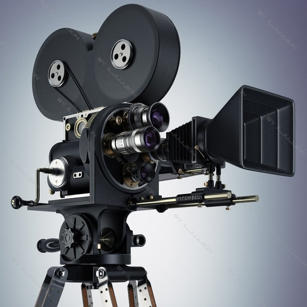 Retro Camera Movie by iljujjkin
