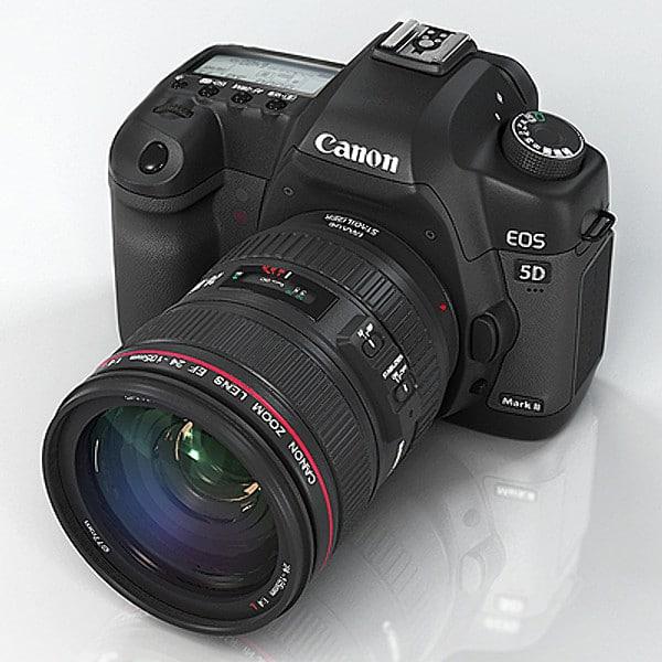 Canon EOS 5D mark II by Andrey Kravchenko