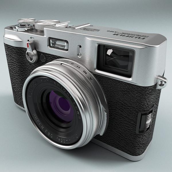 Fujifilm Finepix X100 by 3d_molier