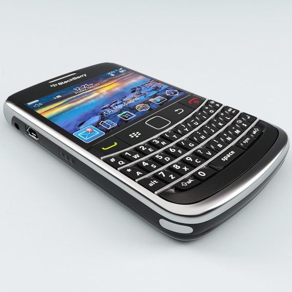 BlackBerry Bold 9700 by 3d_molier