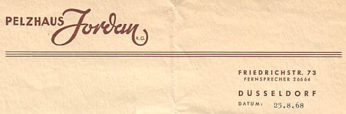 German letterhead from 1965. From Wikimedia Commons