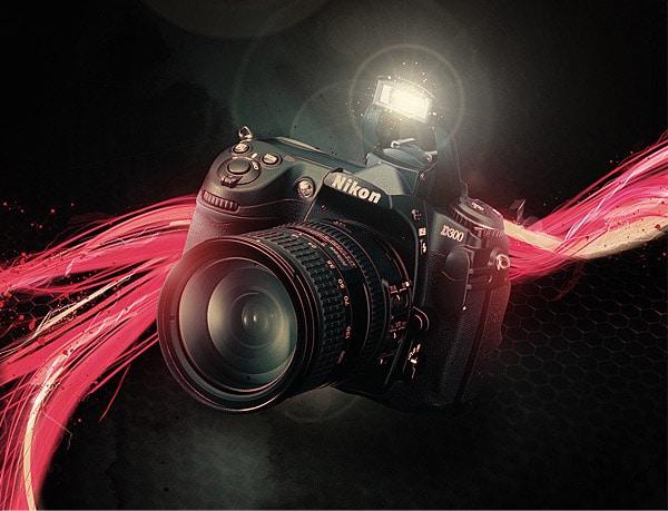 Nikon D300 Fan Art