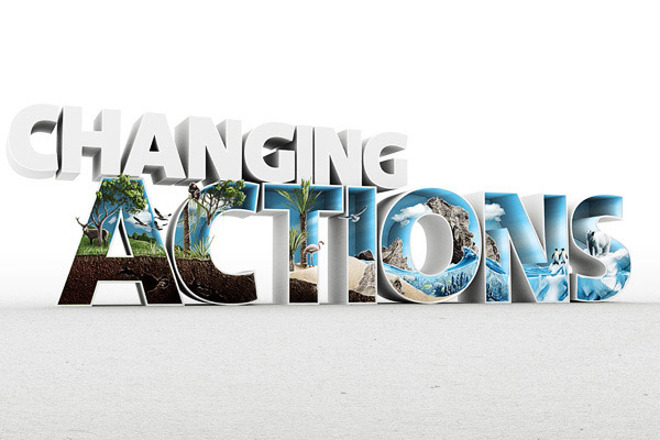 Changing Actions Wallpaper