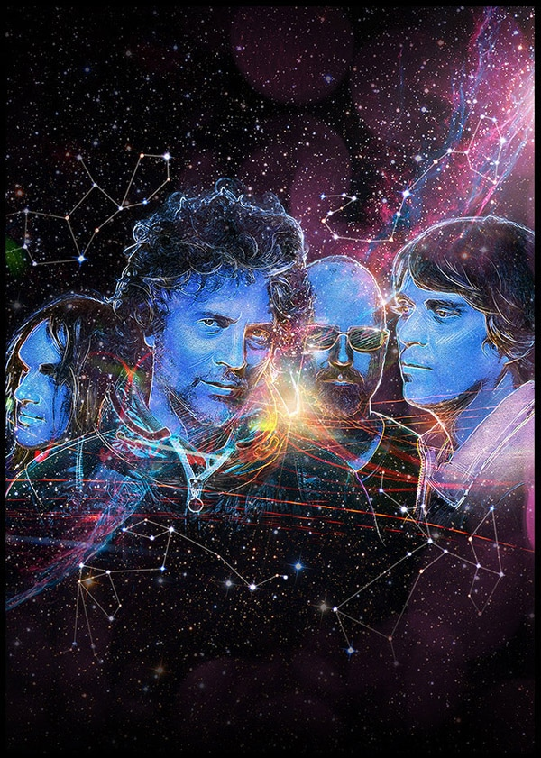 Mojo Magazine - The Flaming Lips Illustration