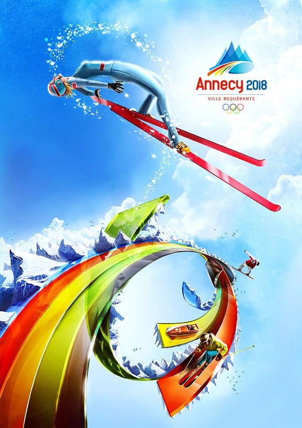 Annecy Winter Olympics 2018