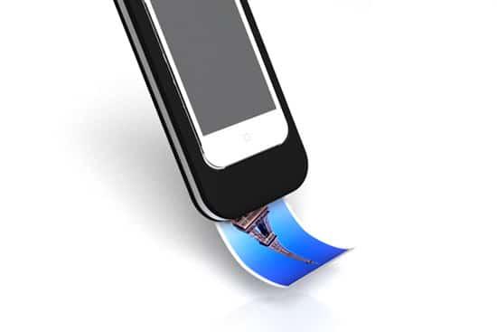 Polaroid iPhone Dock Concept