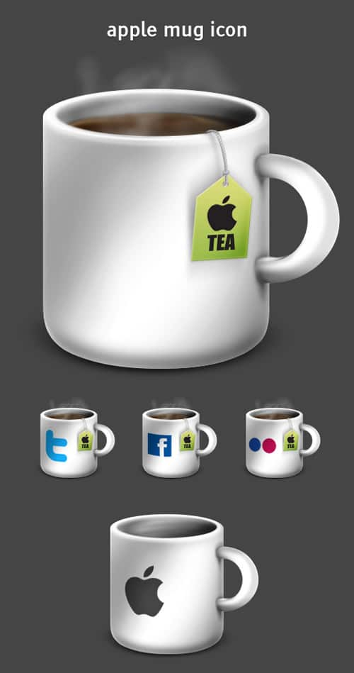 Apple Mug Icons & Extras