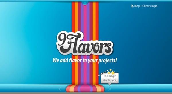 Nine Flavors