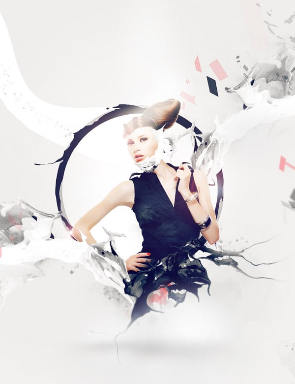 Design Abstract Human Manipulation with Milk/Liquid Texture in Photoshop