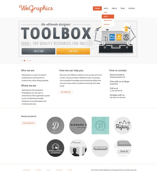 Web Tutorial: Designing and Coding a Clean Multi Purpose Website