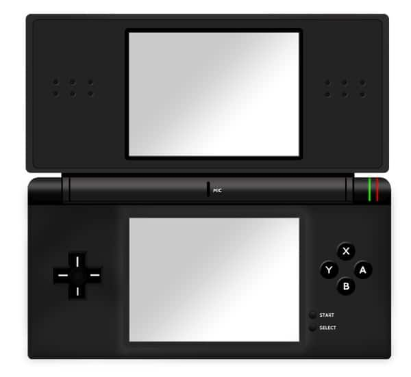 Create A Nintendo DS In Photoshop - Open Version