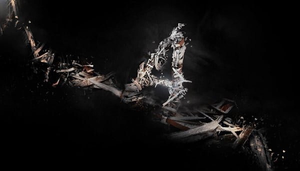 Design a Shattered, Scrappy Metal Text Effect in Photoshop