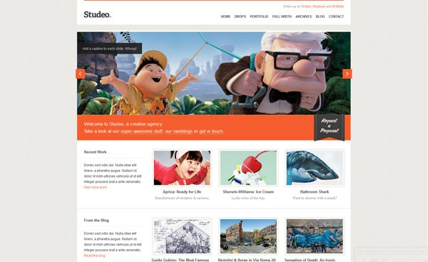 Studeo: Creative Agency / Business WordPress Theme