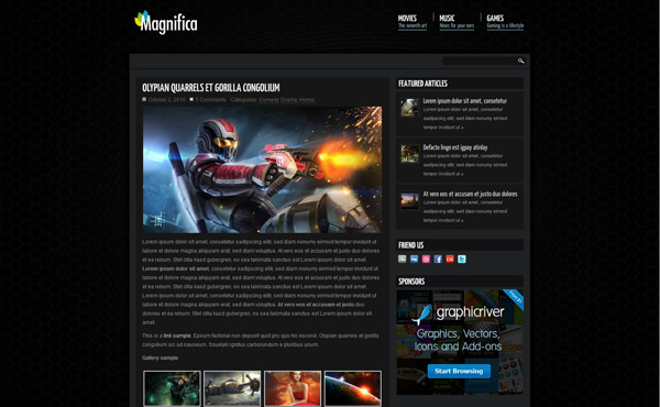 Magnifica | Blog, News & Magazine Theme