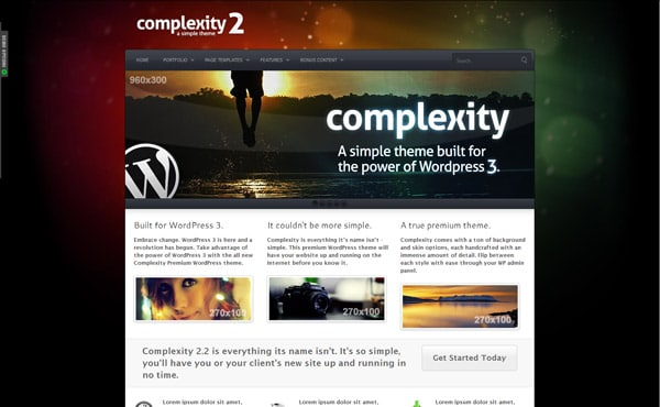 Complexity Premium WordPress Theme