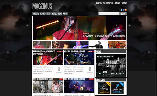 Magzimus | Blog & Magazine theme