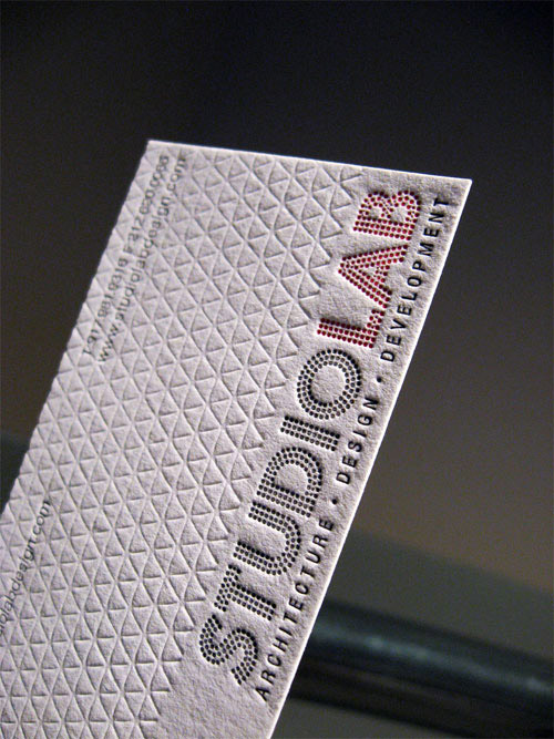 Business Card for: Studio Lab