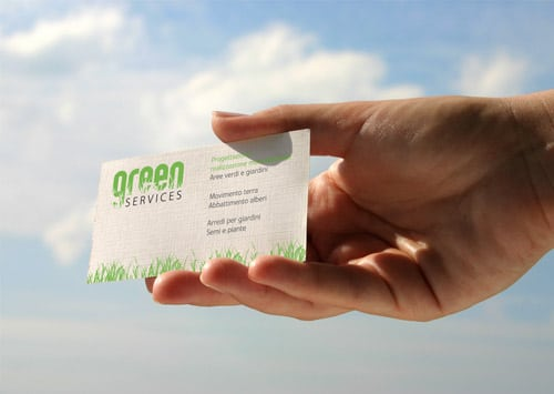 Green Services - Business Cards
