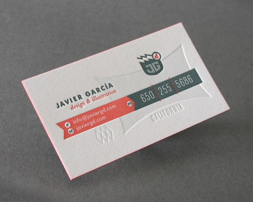 Business Card for: Javier Garcia