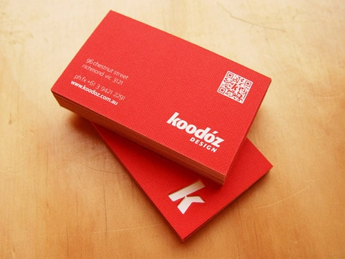 Koodoz Design Business Cards
