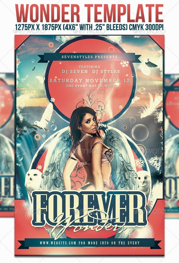 Wonder Flyer Template