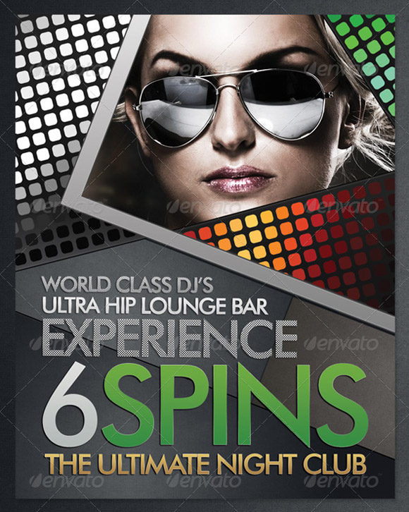 club flyer design templates - 28 images - and club flyer templates ...