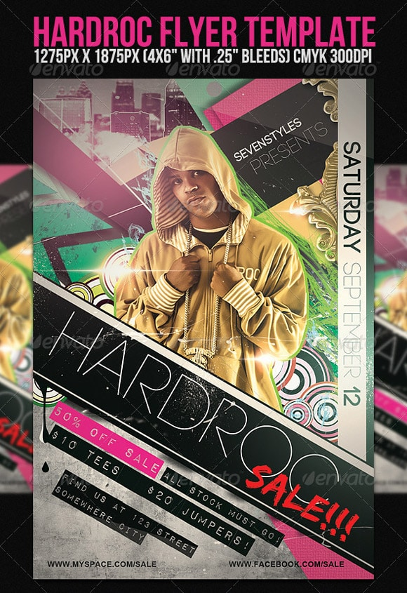 HardRoc Flyer Template