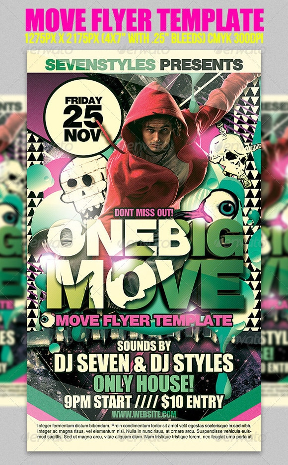 Move Flyer Template