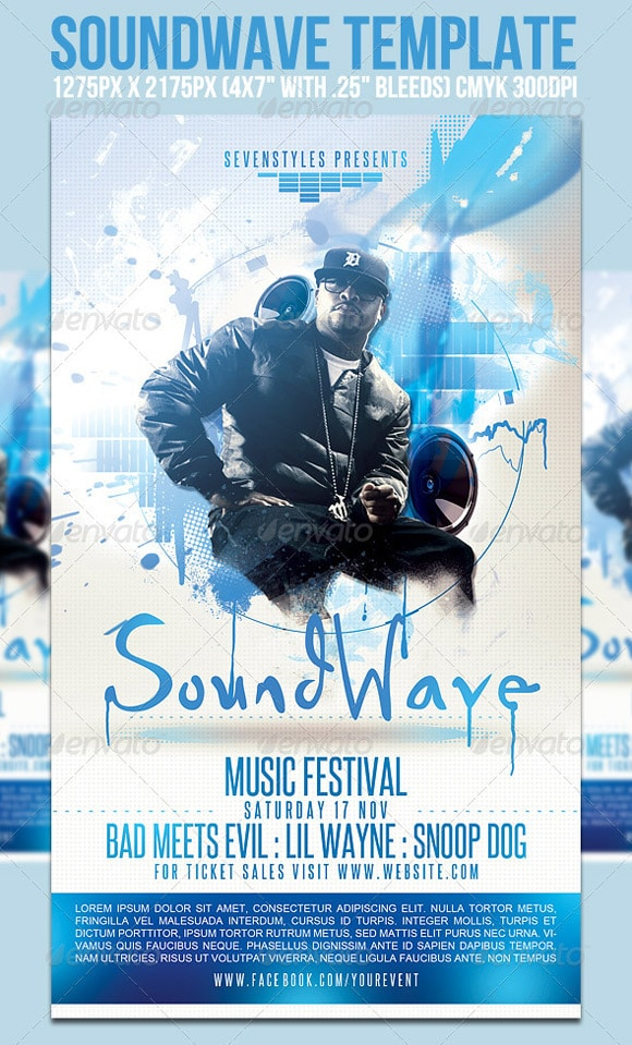 SoundWave Flyer Template