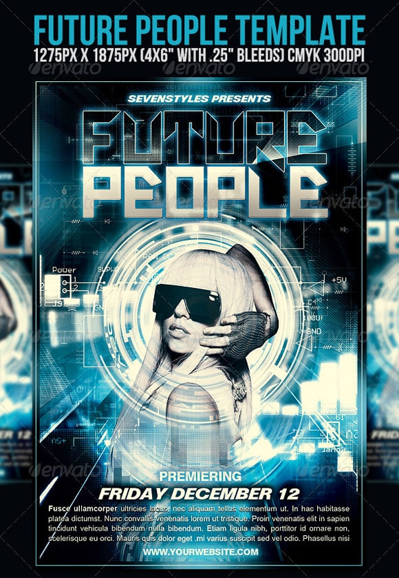 FuturePeople Flyer Template