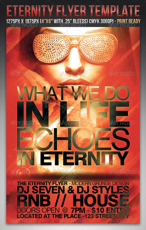 Eternity Flyer Template