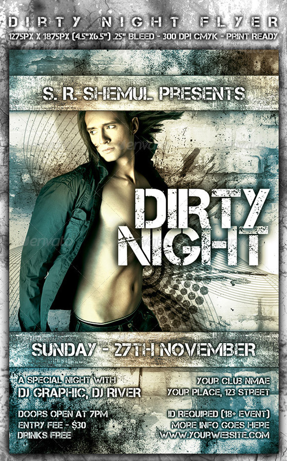 Dirty Night Flyer